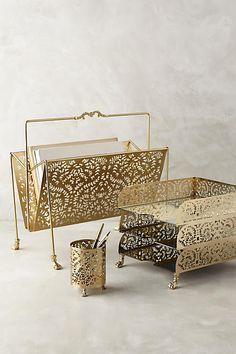 Casimira Desk Accessories - anthropologie.com