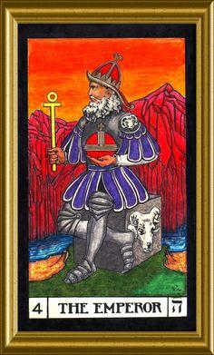 The Emperor Tarot card. The Emperor Tarot, Tarot Tattoo, Trump Card, Tarot Major Arcana, Picture Cards, Human Condition, Oracle Cards, Tarot Decks, Deck Of Cards