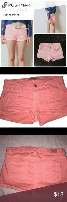 Zara pink denim shorts Zara pink color denim shorts Zara Shorts
