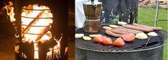 #Braserobarbecue, #découpelaser, #personnalisé. Cuisson sur feu de bois