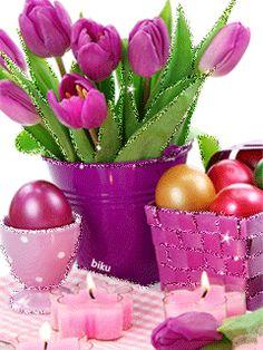 С пасхой - анимация на телефон от biku №1003247 Happy Easter Gif, Happy Easter Greetings, Cute Easter Pictures, Ostern Wallpaper, Bunny Painting, Easter Art, Easter Celebration, Vintage Easter, Gifs