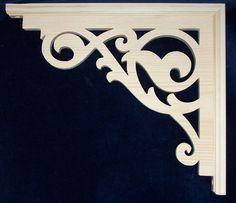 "L G's Victorian Pine Gingerbread Fretwork Brackets 10""   eBay"