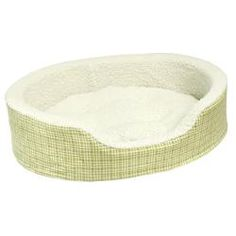 @Overstock - The Ollie oval foam dog bed is perfect for nestling and lounging. This pet bed features a reversible center pillow that offers extra comfort and durable double sewn seams that help to prevent doggie destruction.http://www.overstock.com/Pet-Supplies/Ollie-Reiss-Plaid-18-x-22.5-Foam-Dog-Bed/6246920/product.html?CID=214117 $24.99