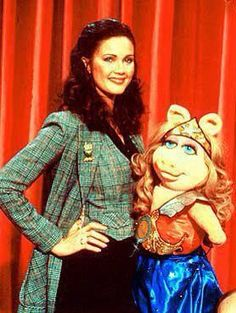 "Lynda Carter Guest Stars On ""The Muppet Show"""