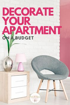 Sharing 11 tips on how to decorate your apartment on a budget. Budget decor can be a big hurdle, but has opened doors to creative solutions. Rental Home Decor, Diy Home Decor On A Budget, Decorating On A Budget, Diy Room Decor, Interior Decorating, Interior Design, Do It Yourself Home, Diy Home Improvement, Diy Furniture