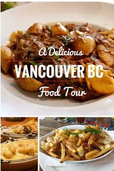 Find delicious food in Vancouver BC on this tour to the best food joints in town. #Vancouver #Canada #food