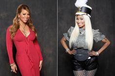 Nicki Minaj and Mariah Carey Leaving 'American Idol' American Idol, Mariah Carey, Political News, Nicki Minaj, Celebrity, Film, Tv, Friends, Movie