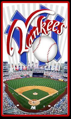 Someday I want to watch a pro baseball game. Play Baseball Games, Baseball Park, New York Yankees Baseball, Pro Baseball, Baseball Scoreboard, Baseball Stuff, Yankees Baby, Yankees Logo, Yankees News