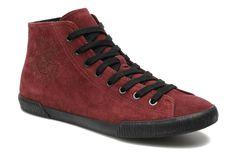 Stoere Sneakers Dirkie van Kenzo (Bordeau) Sneakers van het merk Kenzo voor Heren . Uitgevoerd in Bordeau gemaakt van Nubuck.