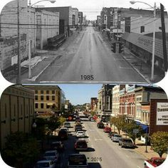1985 -2015  Owensboro Ky Downtown