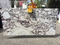 Calacatta Viola Marble, polished, block no 1276. EOFY sale! Available at Marable Slab House in Sydney #marable #marble #calacatta