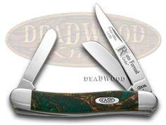 CASE XX Rain Forrest Genuine Corelon Stockman 1/500 Pocket Knife - CA9318RF-LTD | 9318RF-LTD - 026615243700