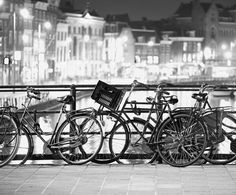 Dutch City Love - Fotobehang Amsterdam CL31B