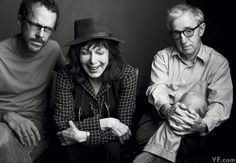 Photos: Vanity Fair's Most Iconic Photography in 2011 | Vanity Fair  Ethan Coen, Elaine May, and Woody Allen, photographed by Annie Leibovitz.    Related Story: Three for the Seesaw