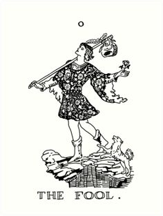 The Fool Tarot Card by rachels1689