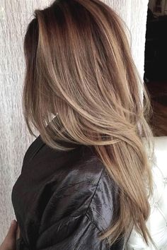 25 Hair Color Trends New Hair Color Ideas for 2018 - Secrets of Stylish Women Best Ombre Hair, Brown Ombre Hair, Volume Haircut, Ombre Hair Color For Brunettes, Hair Caramel, Long Layered Haircuts, Cool Hair Color, Hair Colors, Brunette Hair
