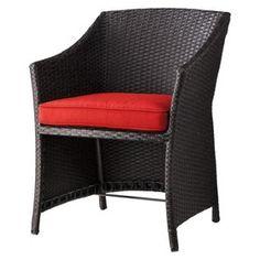 Threshold™ Loft 5-Piece Wicker Patio Conversatio... : Target Mobile Outdoor Chairs, Outdoor Furniture, Outdoor Decor, Furniture Sets, Wicker, Armchair, Loft, Patio, Conversation