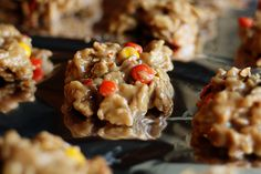 Reeses Pieces No Bake Cookies