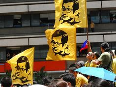It is true you cannot eat freedom and you cannot power machinery with democracy. But then neither can political prisoners turn on the light in the cells of a dictatorship - Corazon Aquino (cc totaloutnow)