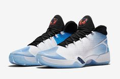 1cfdf0e2e1fa Air Jordan XXX Color White Black-University Blue Style Code 811006-