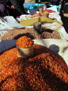 spices, lots of spices