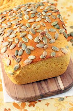Pumpkin Cheddar Bread