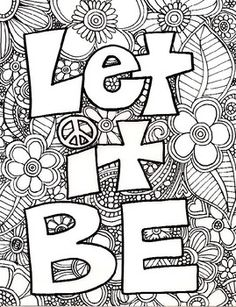 Adult Coloring Page Free PagesQuote