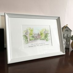 House Illustration, How To Draw Hands, Frame, Home Decor, Picture Frame, Decoration Home, Room Decor, House Drawing, Hand Reference