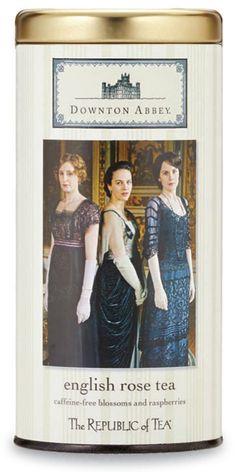 Downton Abbey: English Rose Tea