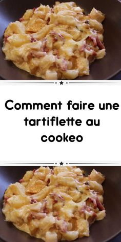 How to make a tartiflette at cookeo the emblematic dish of Savoy you will find here the easiest cookeo recipe for your tartiflette. Cake Recipes At Home, Apple Cake Recipes, Cake Recipes From Scratch, Homemade Cake Recipes, Best Cake Recipes, Snack Recipes, Healthy Apple Cake, Vegan Apple Cake, Easy Apple Cake