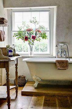 modern rustic bath