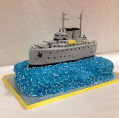 Elaine's Sweet Life: Battle Ship Cake