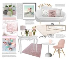 """""""Senza titolo #6160"""" by waikiki24 ❤ liked on Polyvore featuring interior, interiors, interior design, home, home decor, interior decorating, Posh Totty Designs Interiors, DENY Designs, Serena & Lily and ELK Lighting"""