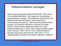 Tollbamondáshoz szövegek, tulajdonnév helyesírásának gyakorlásához Grammar, Montessori, Album, Education, Signs, Learning, School, Shop Signs, Sign