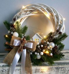 All Details You Need to Know About Home Decoration - Modern Homemade Wedding Decorations, Handmade Christmas Decorations, Xmas Decorations, Outdoor Christmas, Rustic Christmas, Christmas Crafts, Christmas Ornaments, Holiday Wreaths, Holiday Decor