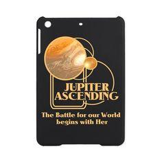 Jupiter Ascending iPad Mini Case #JupiterAscending Battle for our World begins with Her - Movie Feb 6 lots of designs teams #JupiterJones -see all the products here - http://www.cafepress.com/dd/90184230