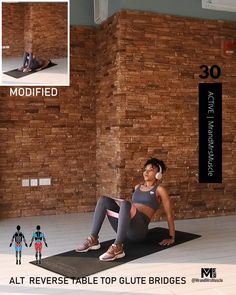 Leg And Glute Workout, Hiit Workout At Home, Flat Belly Workout, Pilates Workout, Workout Videos, At Home Workouts, Resistance Workout, Pilates Training, Workout Bauch