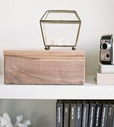 Medium Wood Photo Bo