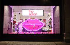 The Salon is now open for business! #beautyproject #SelfridgesLondon windows