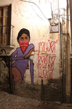 Albayzin Graffiti by cheko , via Behance Graffiti Wall Art, Art Mural, Paint Photography, Spanish Artists, Best Street Art, Feminist Art, Power Girl, Urban Art, Illustrations Posters