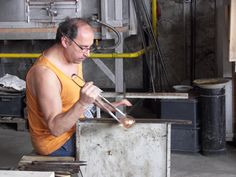 Murano glassblowing demonstration