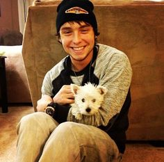 hats, puppies, god, emblem3 33, dogs, fans, wesley stromberg, new puppy, wesleystromberg