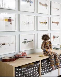 """""""You don't want to have to close the doors to the kids rooms,"""" says Christiane Lemieux, founder and creative director of DwellStudio, and author of Undecorate. """"Storage is key for hiding some of the plastic stuff you hate to look at—because even if you swear it will never cross the threshold of your house, it will."""" The secret she says is to let it go and embrace your child's presence in the home."""