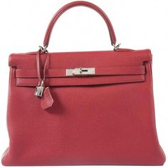 3787ad5fea3afc $10,191 HERMES, Kelly 35 leather handbag. This Kelly 35 is in leather togo,