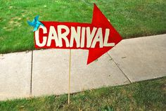 threadesque: Vintage Carnival Engagement Party!