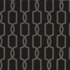 Michael Miller House Designer - Mod Basics - Trelliage in Noir