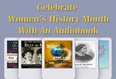 Celebrate #WomensHistoryMonth with a great #audiobook! #NellieBly #SusanBAnthony http://j.mp/CelebrateWomensHistoryMonth