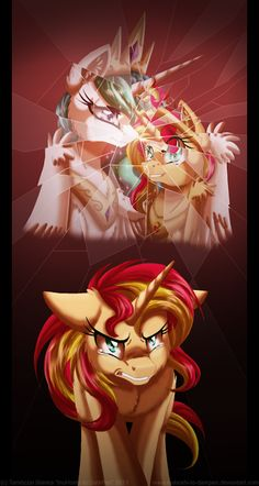 So sad....I really like Sunset Shimmer, I wish that they would do a back story on her.