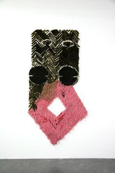 View Fevver by Caroline Achaintre on artnet. Browse more artworks Caroline Achaintre from Saatchi Gallery. Art Fibres Textiles, Textile Fiber Art, Weaving Textiles, Weaving Art, Textile Artists, Tapestry Weaving, Sculpture Textile, Soft Sculpture, New Art