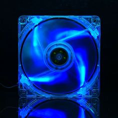 Cheap pc fan, Buy Quality cooling pc directly from China pc cooling fan Suppliers: QDIY Personalized Computer Case Matte Transparent Blue Lamp Cooling PC Fan Water Cooling, Pc Cases, Computer Case, Led, Transparent, Cool Stuff, Laptop Buy, Fan